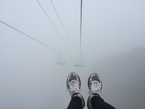 Chairlift to the abyss...